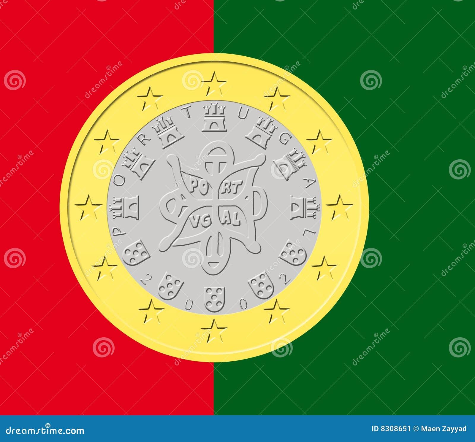 νόμισμα ευρο- πορτογαλι&k