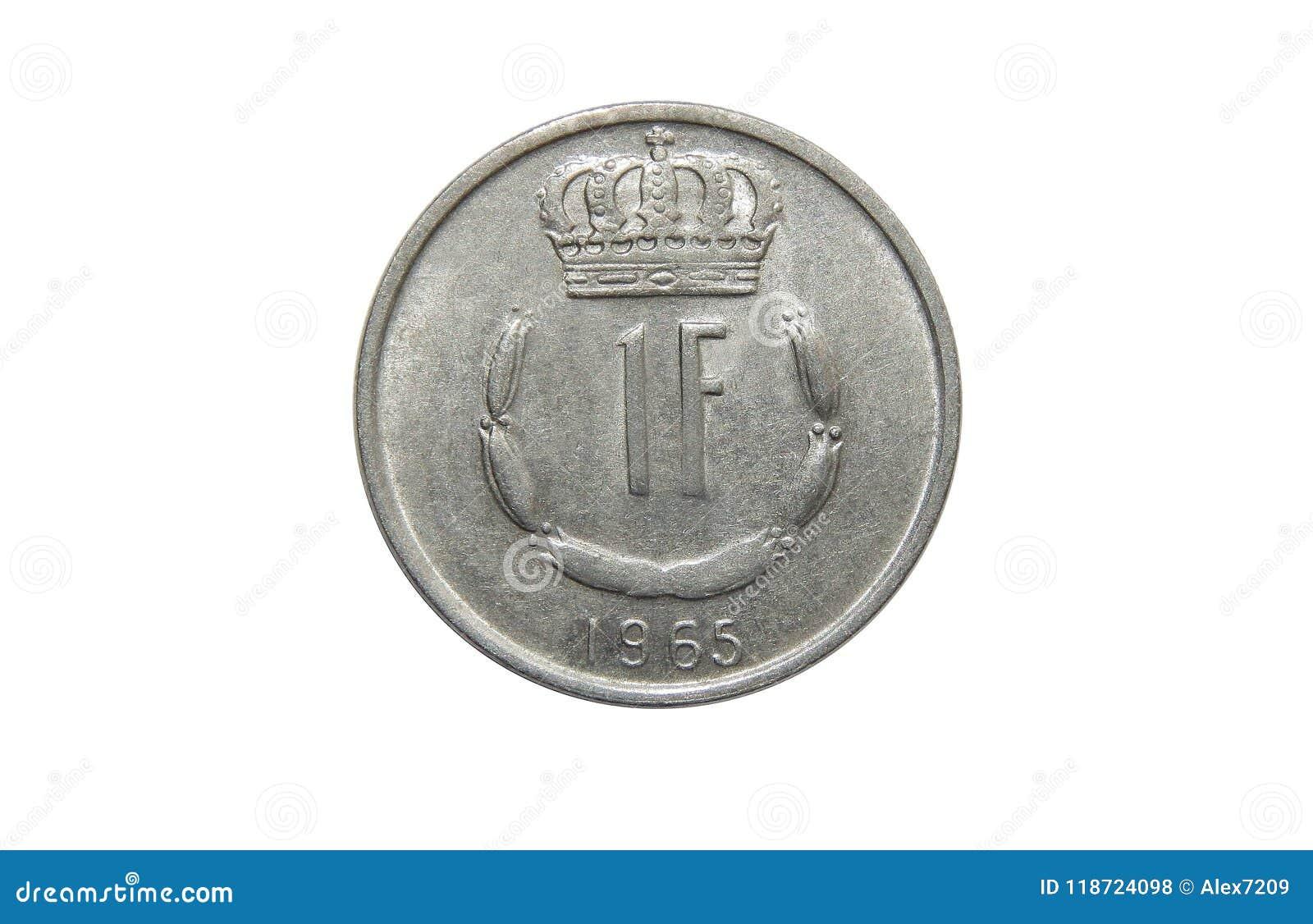 Νόμισμα Λουξεμβούργο 1 φράγκο