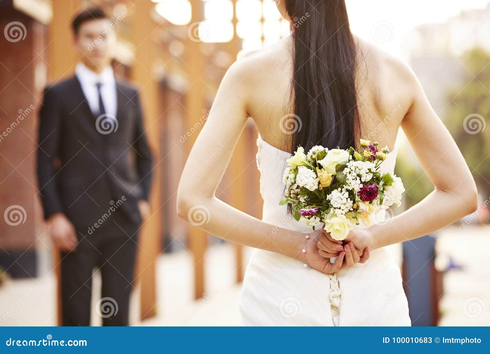 Νύφη και νεόνυμφος στο γάμο