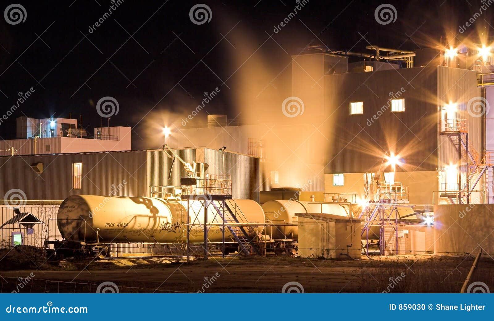 νύχτα εργοστασίων