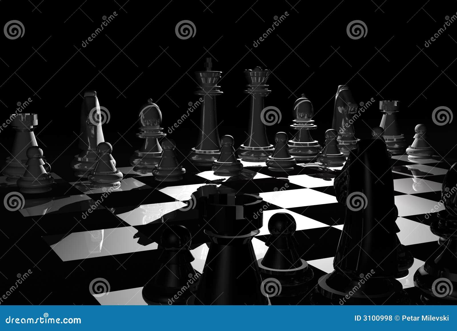 νύχτα σκακιού