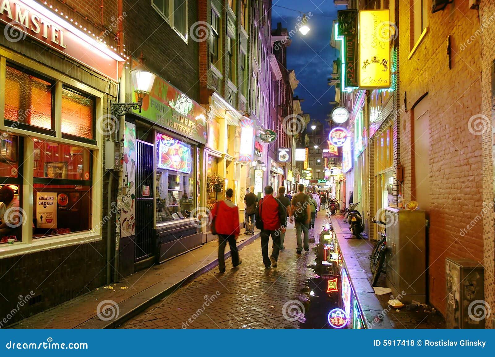 νύχτα του Άμστερνταμ