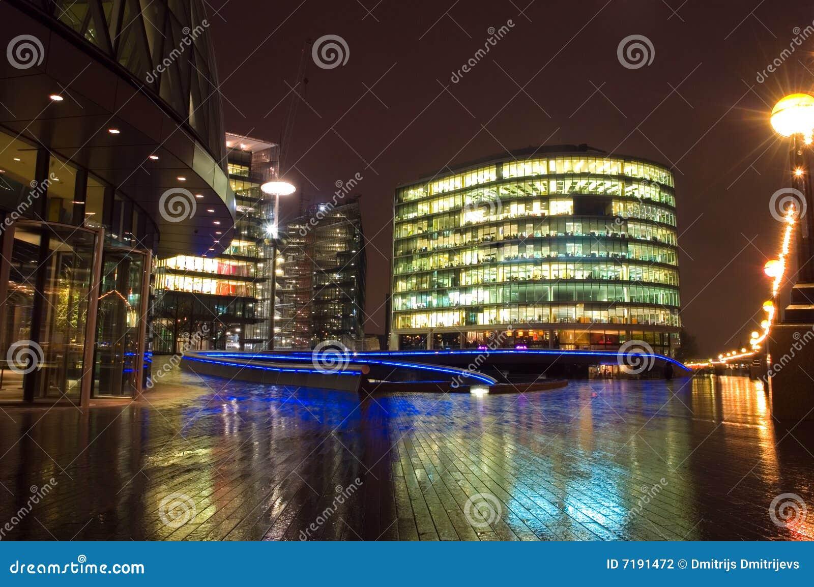 νύχτα του Λονδίνου εμπορ