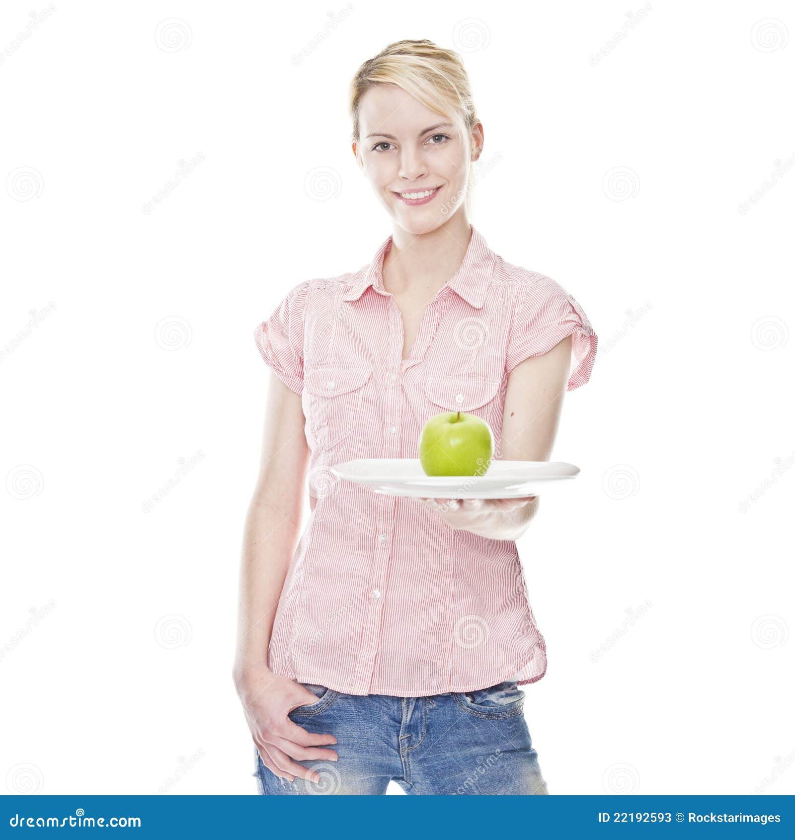 ξανθές πράσινες υγιείς ν&epsilon
