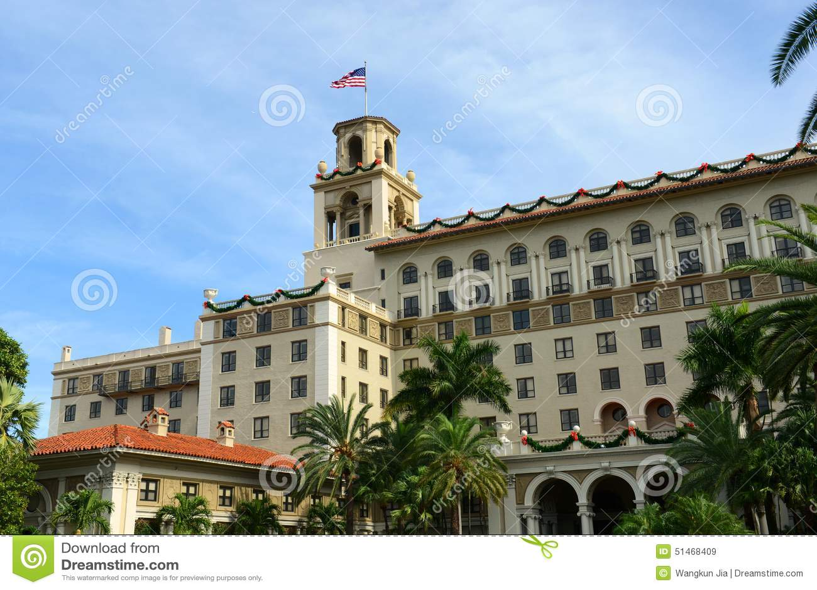 Ξενοδοχείο διακοπτών, Palm Beach, Φλώριδα