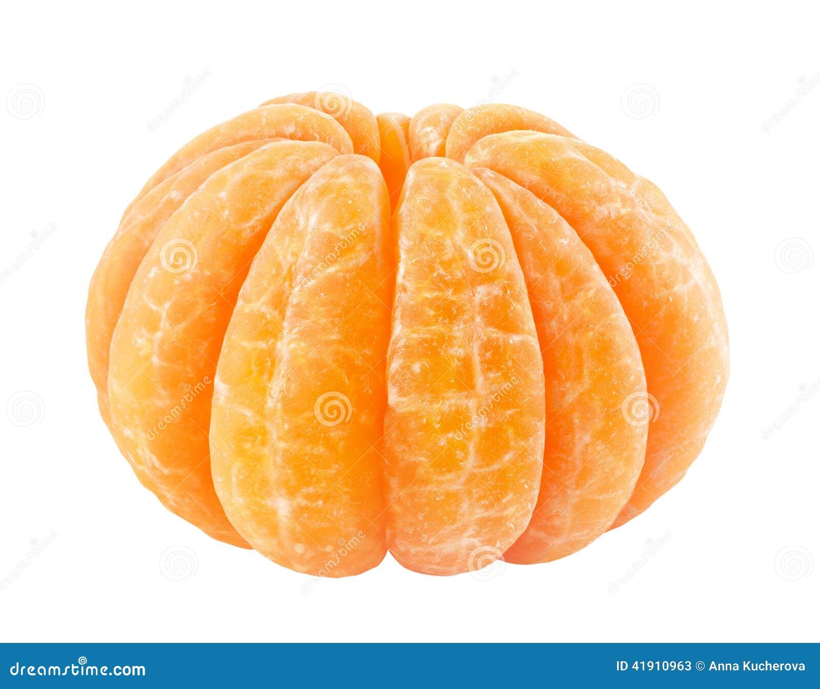 Ξεφλουδισμένο tangerine