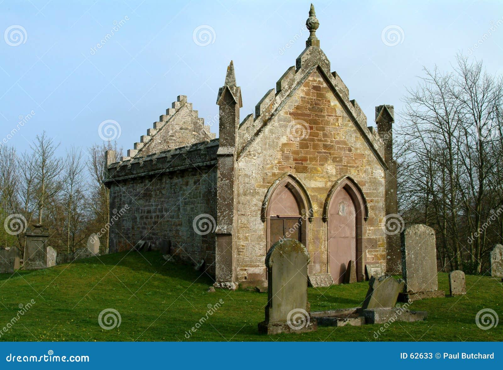 Download ξεχασμένη εκκλησία Montrose Σκωτία Στοκ Εικόνα - εικόνα από θρησκευτικός, πέτρες: 62633