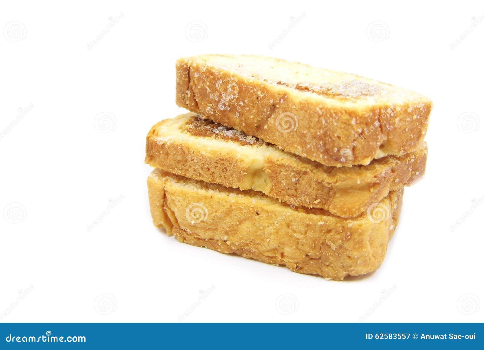 Ξηρό τεμαχισμένο ψωμί χοιρινού κρέατος