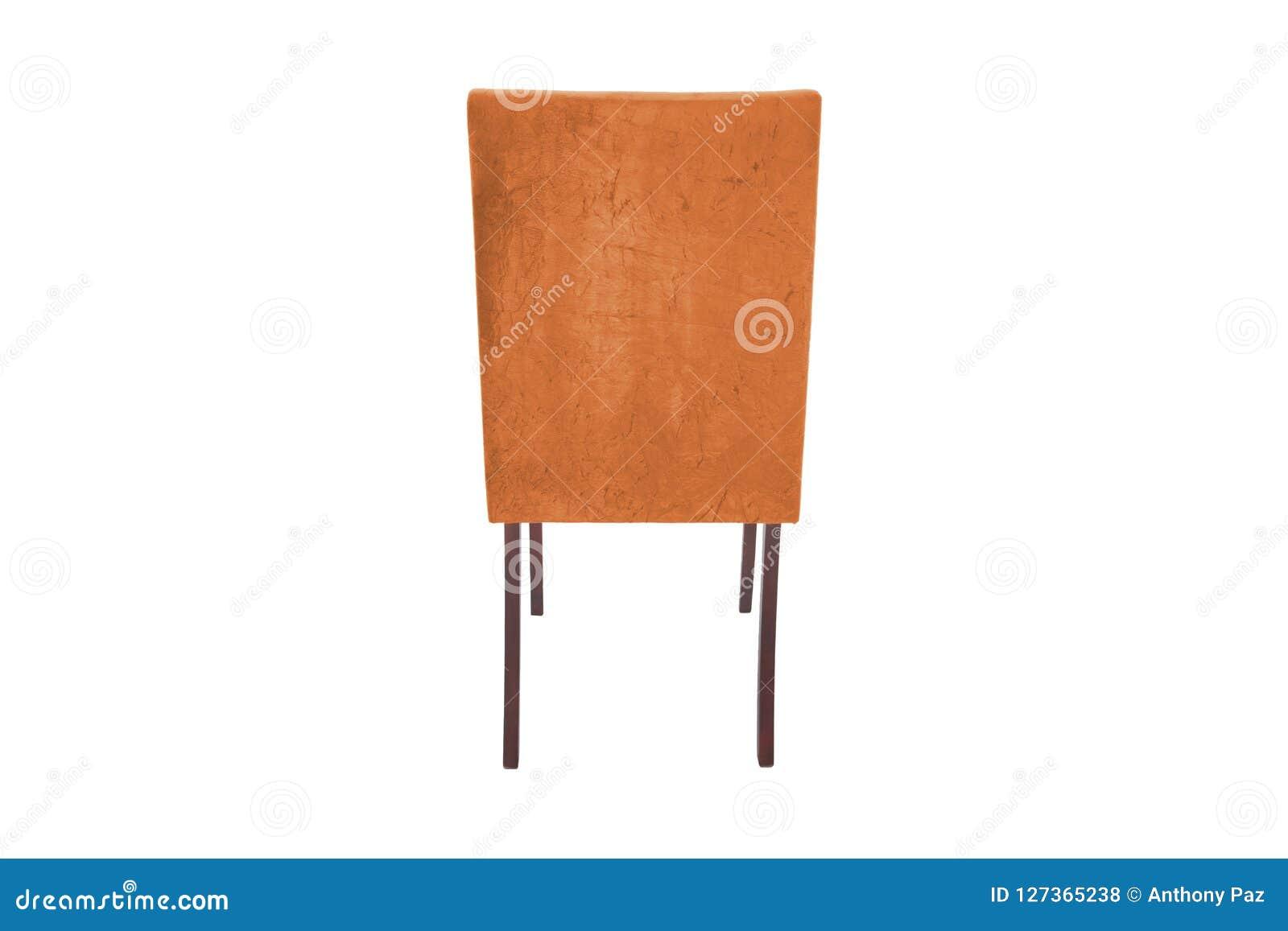 Ξύλινη καρέκλα χρώματος Αντικείμενο που απομονώνεται του υποβάθρου