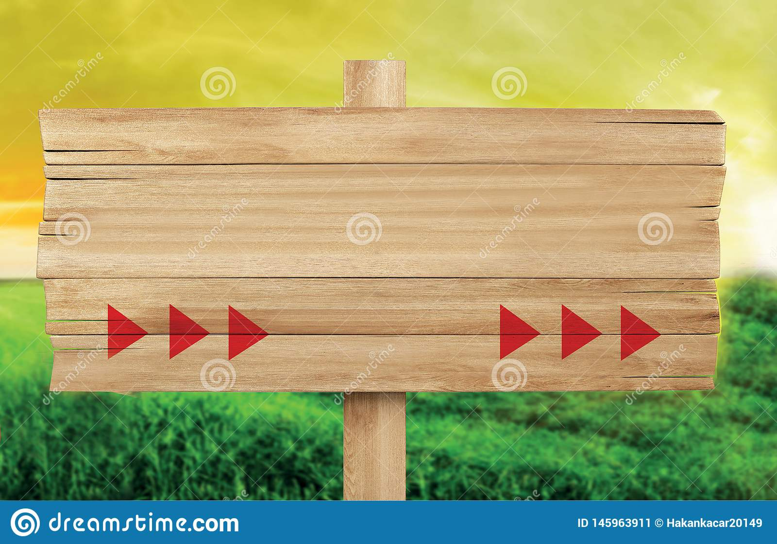 Ξύλινη πινακίδα, αγροτική πινακίδα κενό διάστημα για το γράψιμο