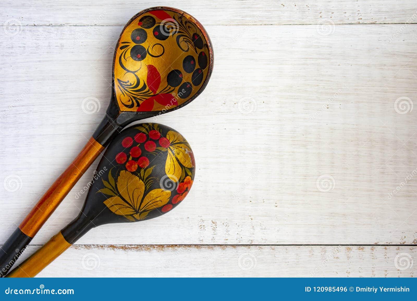 Ξύλινο ρωσικό κουτάλι