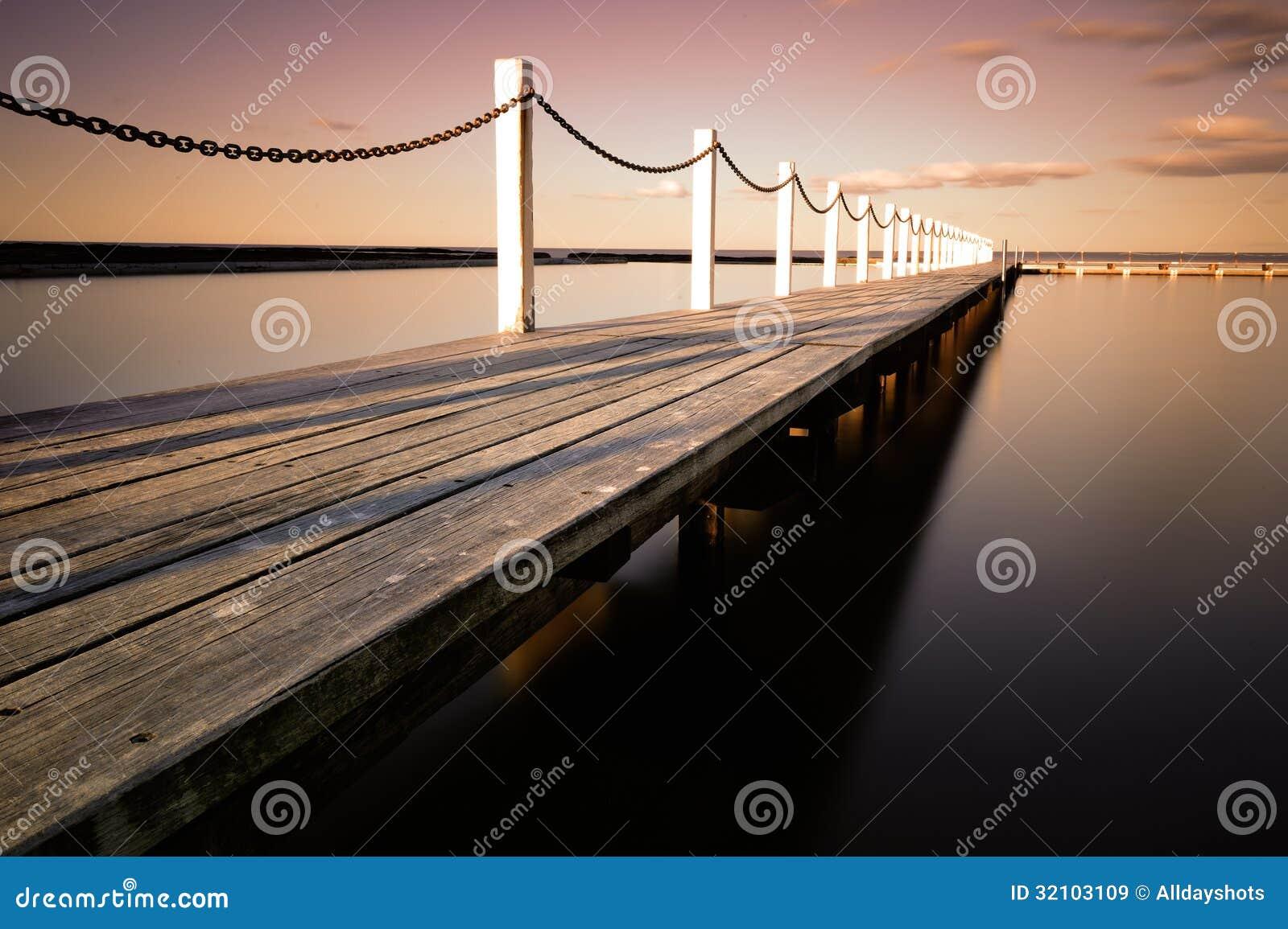 Ξύλινη γέφυρα