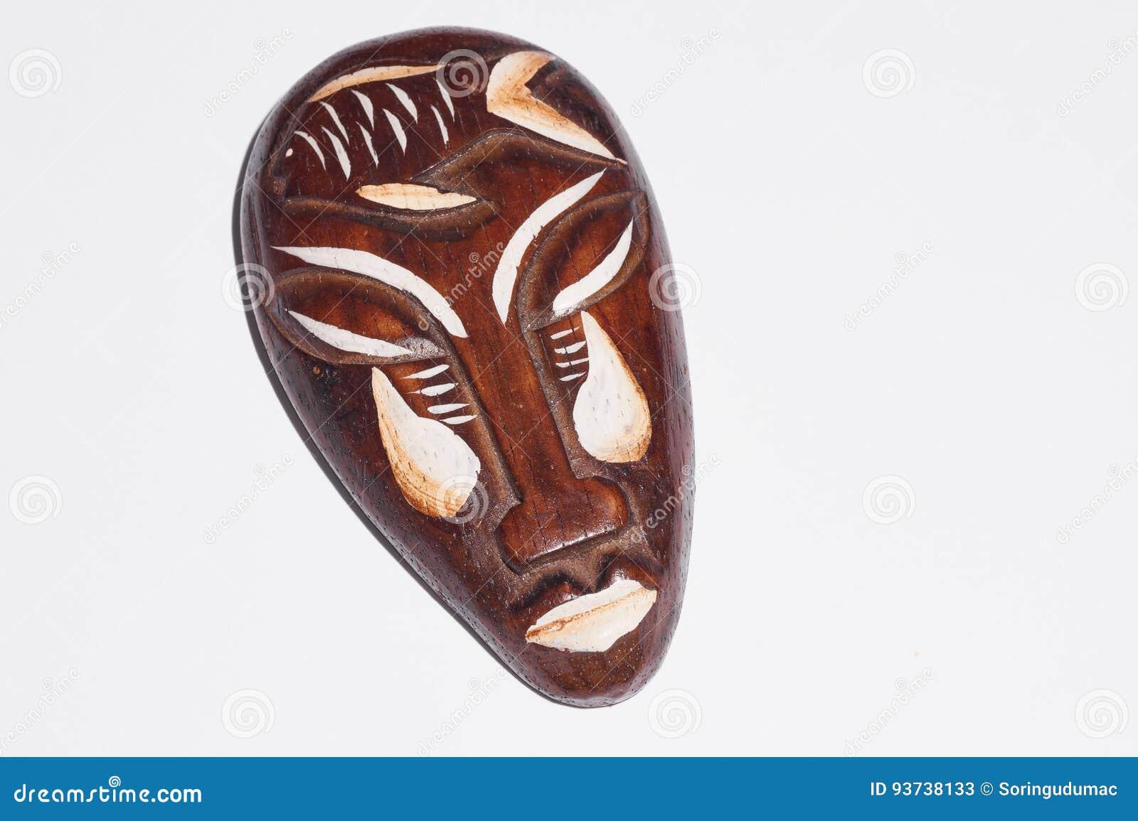 Ξύλινη μάσκα Afican