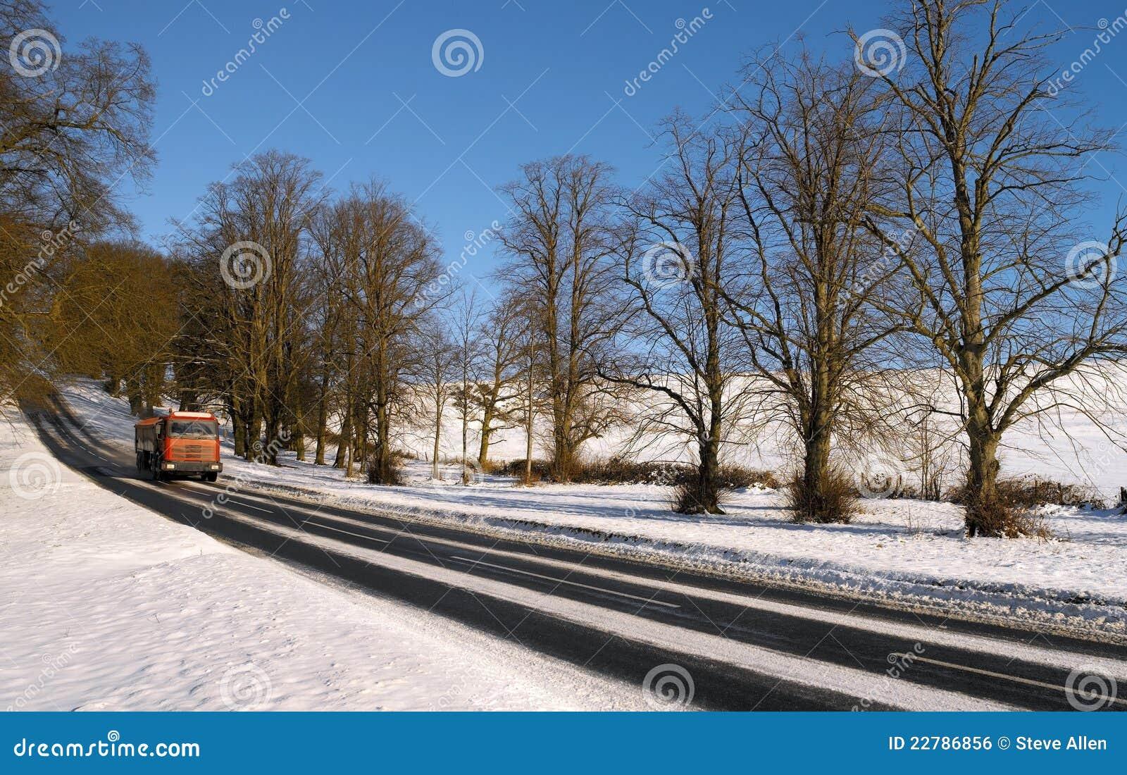 οδηγώντας χειμώνας Γιορ&kap
