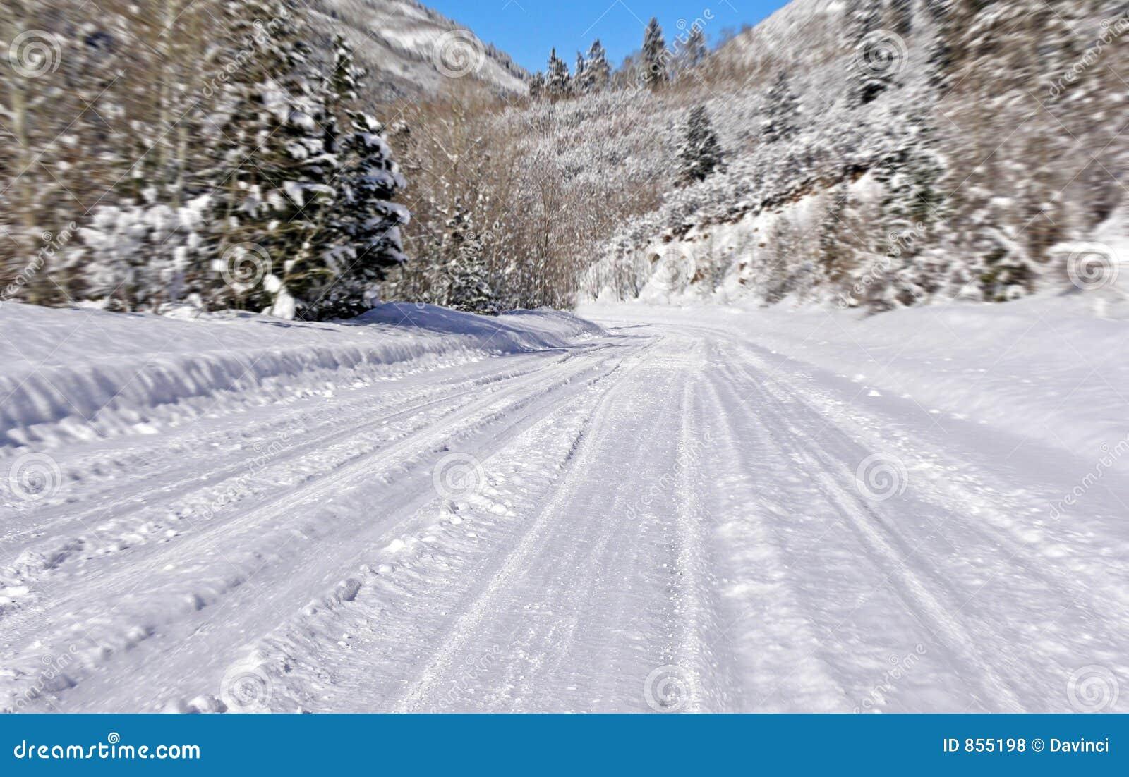 οδικό χιόνι