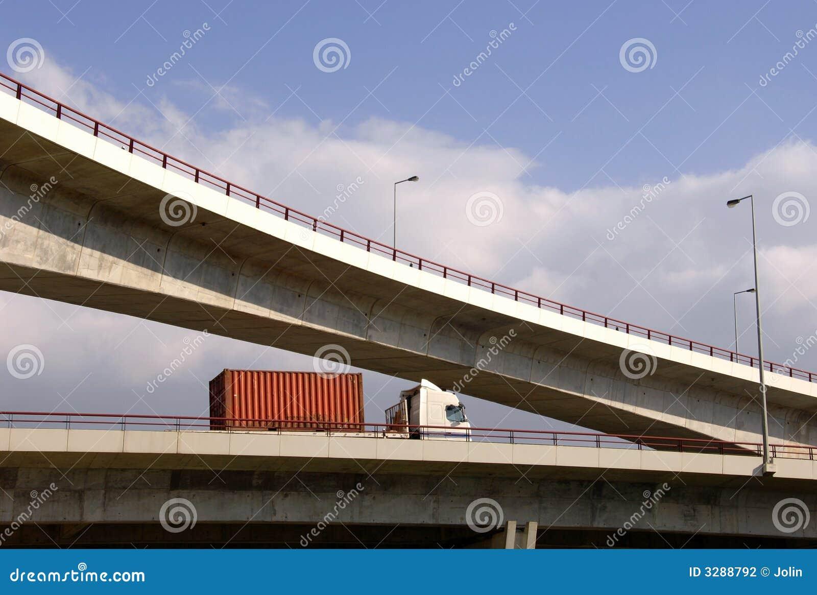 οδογέφυρα truck εθνικών οδών