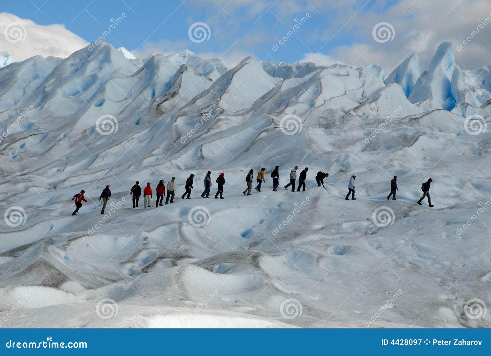 οδοιπορία παγετώνων