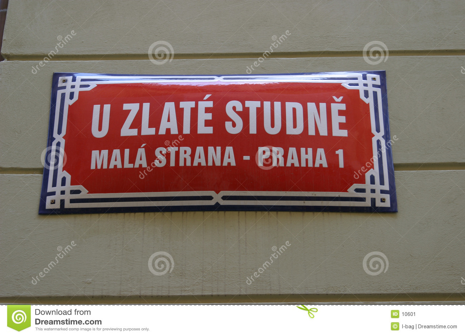 οδός σημαδιών της Πράγας