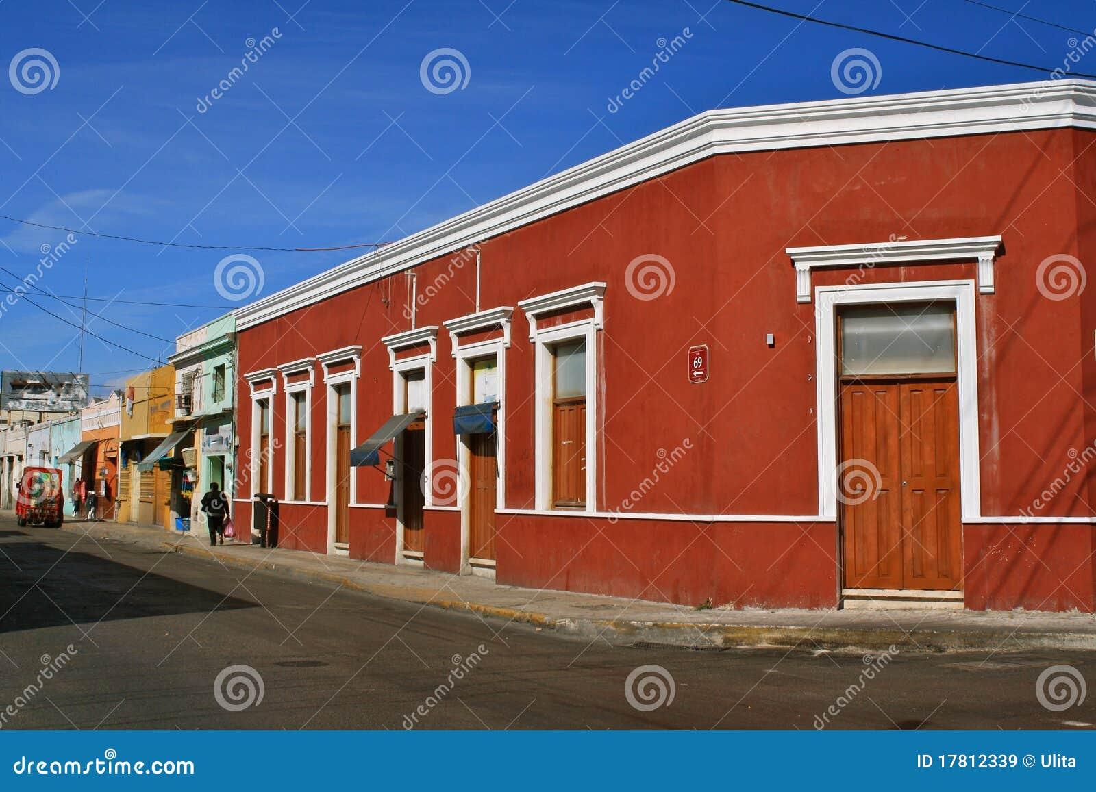 οδός του Μέριντα Μεξικό γω&