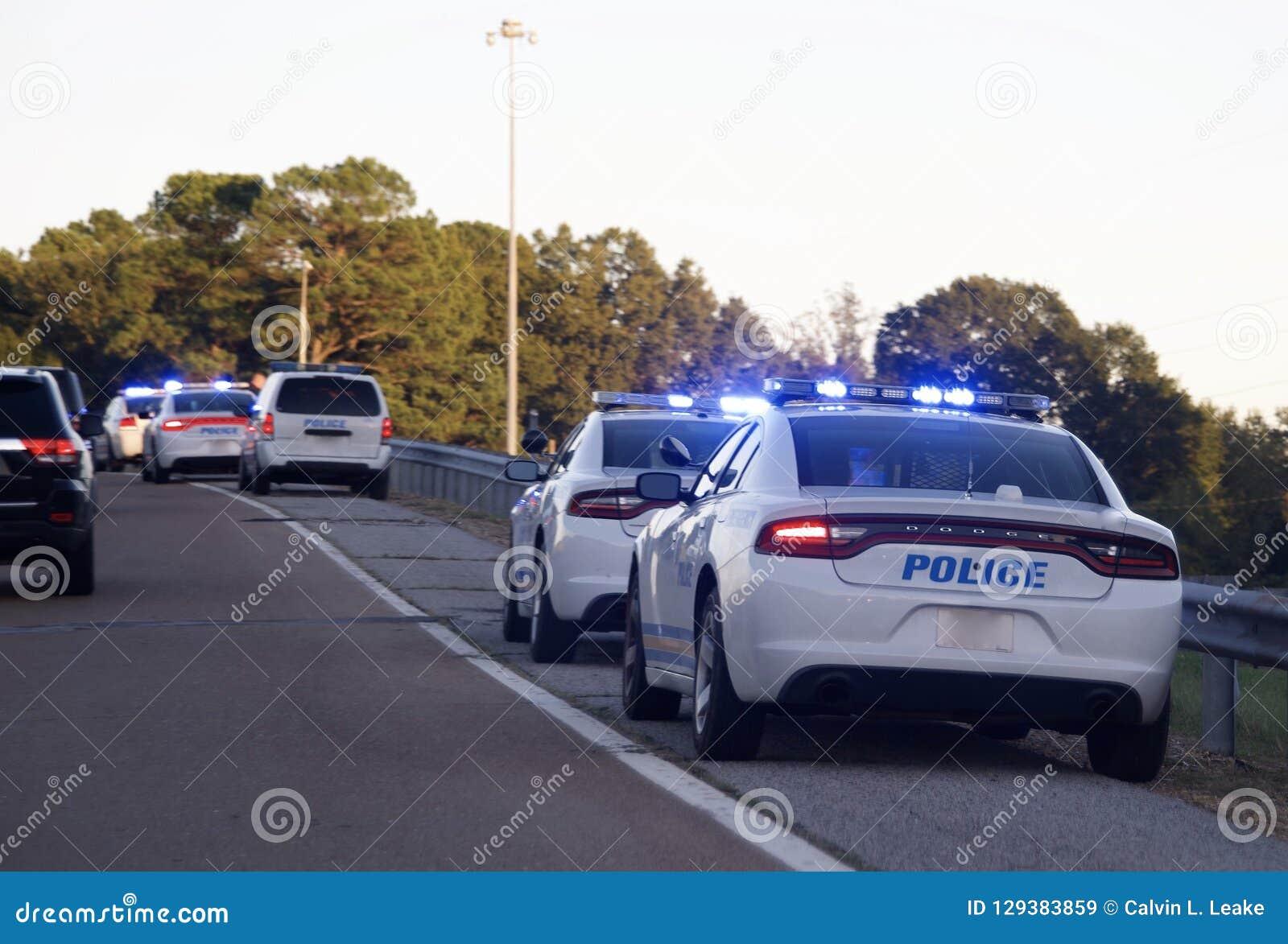 Οδόφραγμα Check Point αστυνομίας