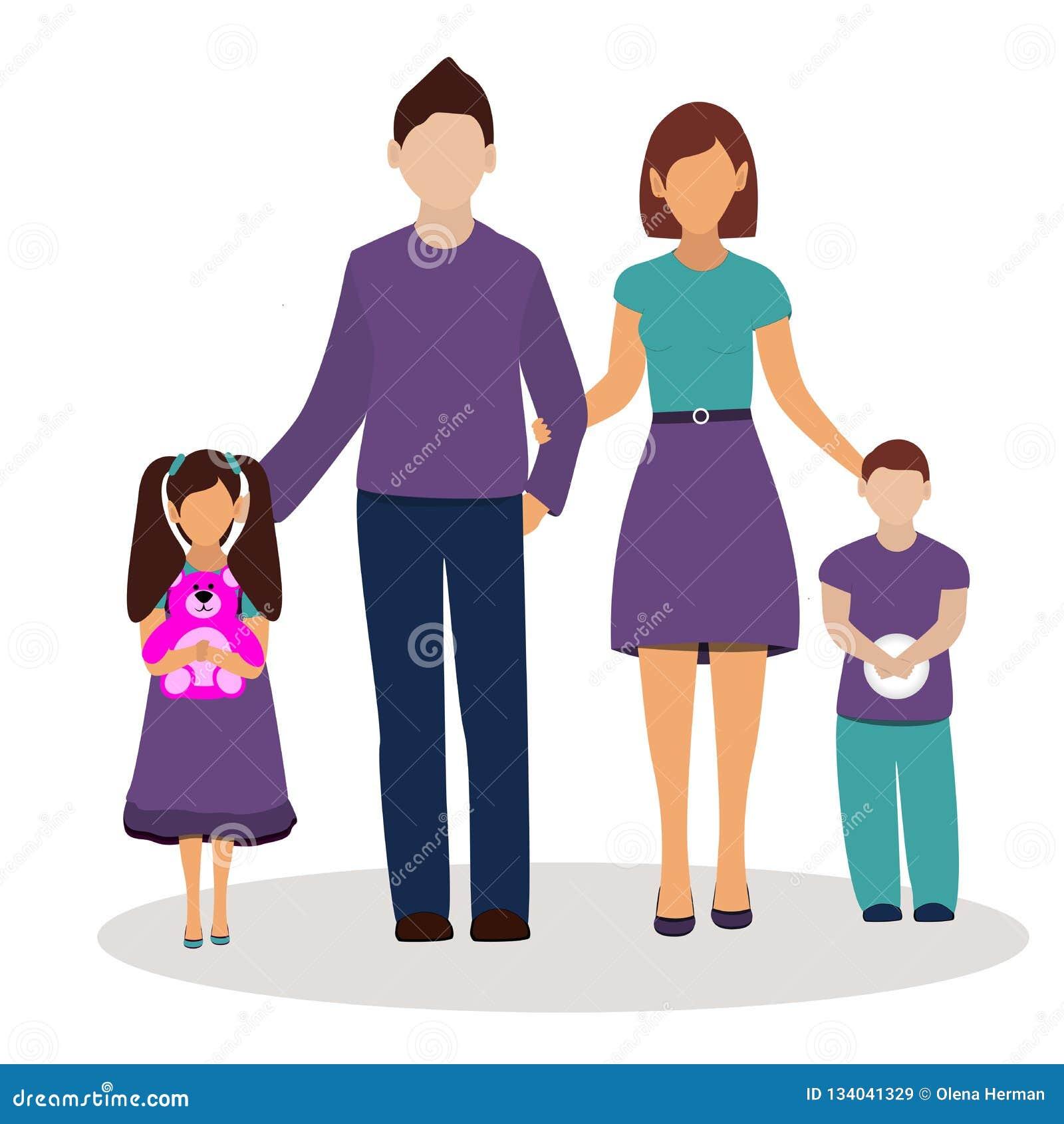 Οικογένεια επίσης corel σύρετε το διάνυσμα απεικόνισης