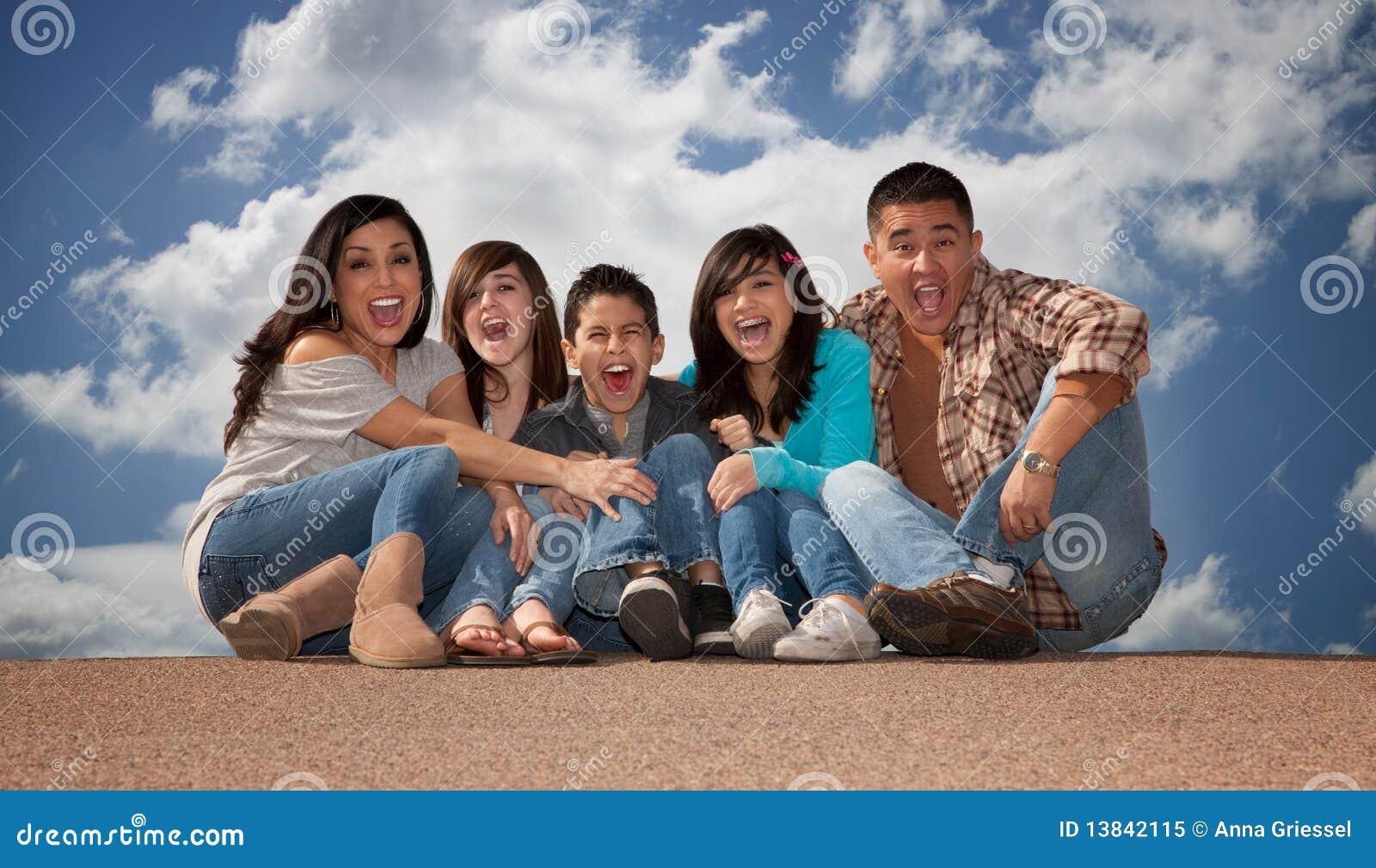 οικογένεια ισπανική