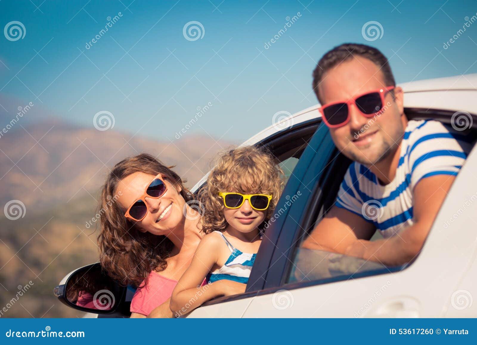 Οικογένεια στις διακοπές