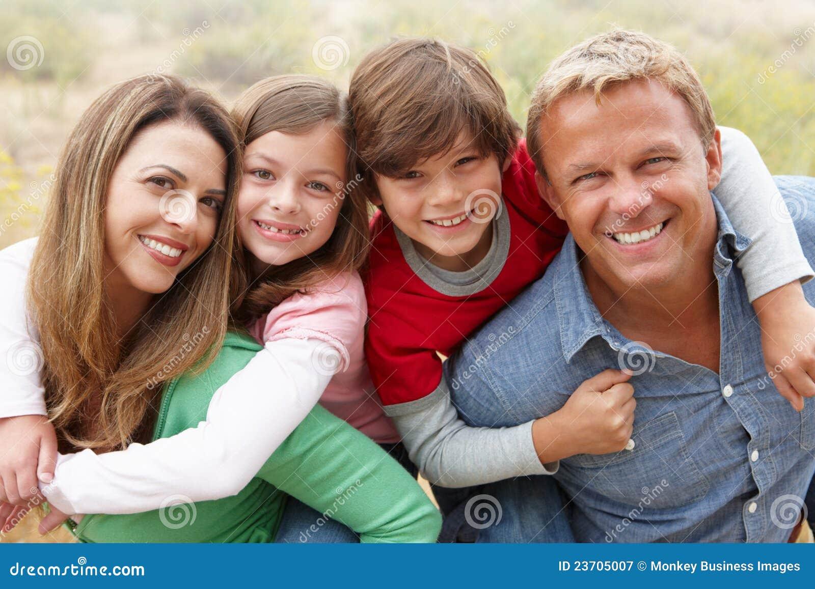 Οικογένεια υπαίθρια