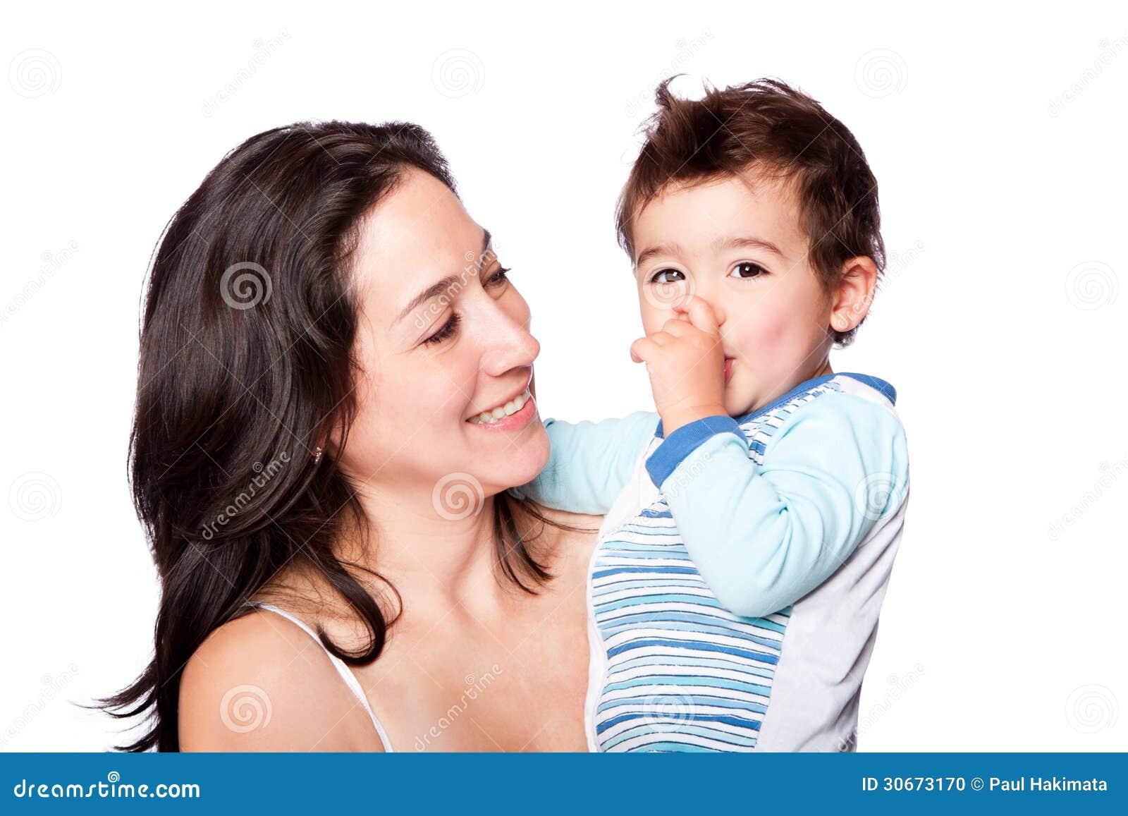 Οικογενειακοί μητέρα και γιος