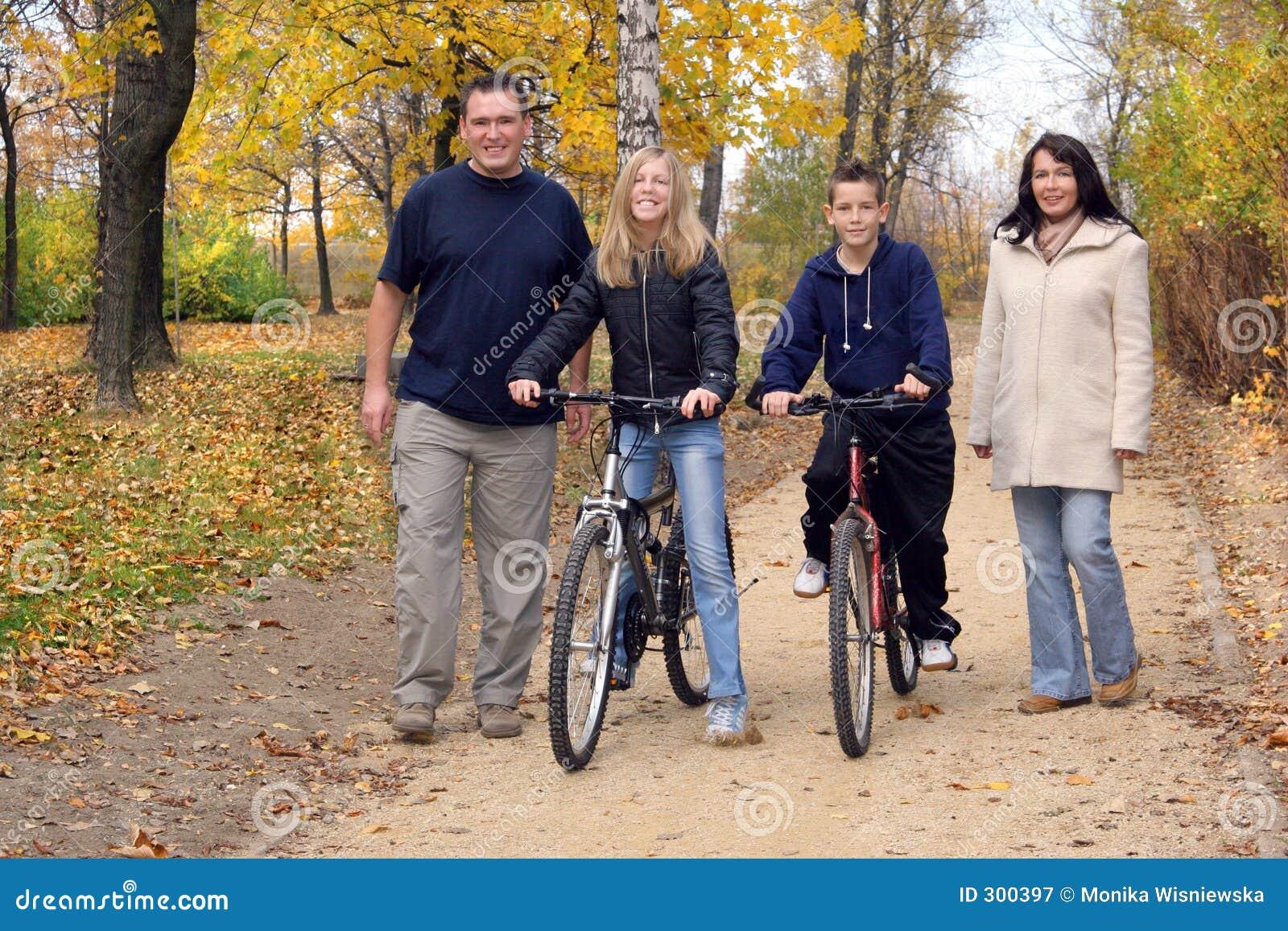 οικογενειακός περίπατος