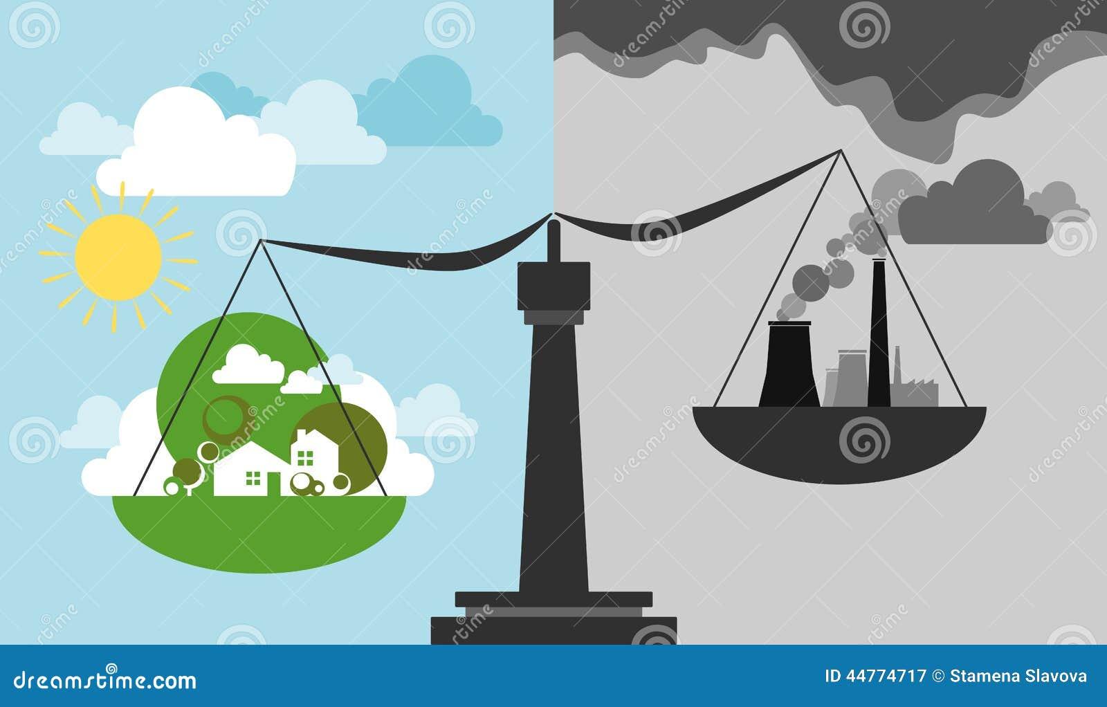 Οικολογικές κλίμακα και ισορροπία