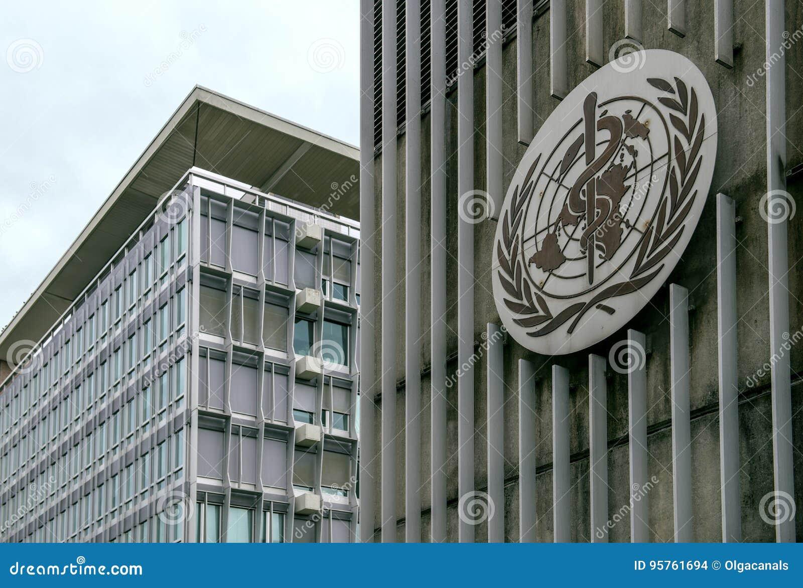 Οικοδόμηση της Παγκόσμιας Οργάνωσης Υγείας & x28 WHO& x29  στη Γενεύη, Ελβετία