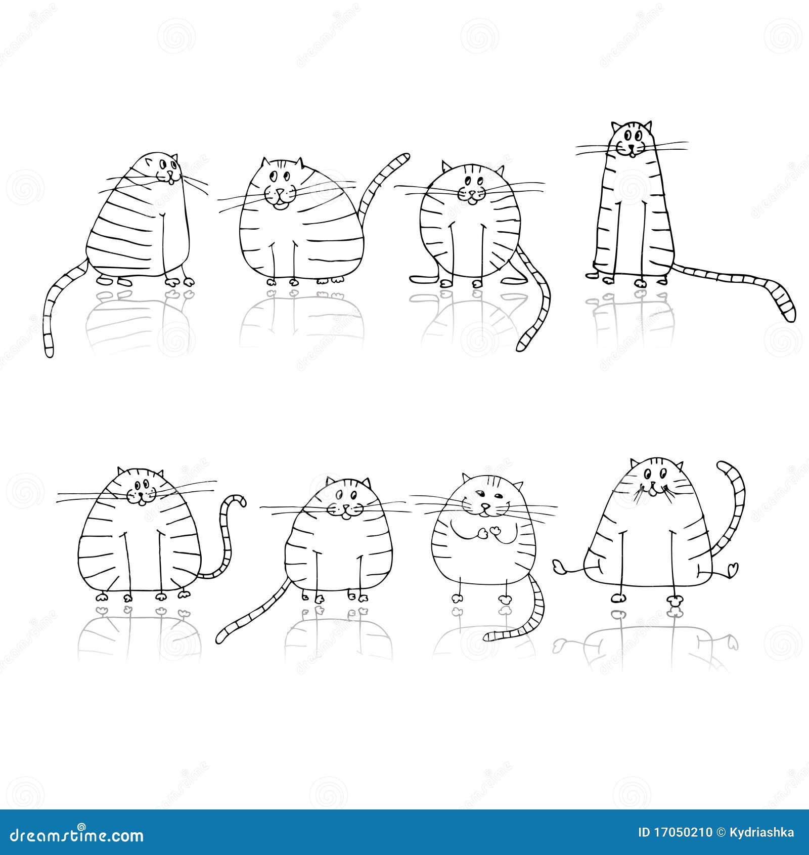 οι γάτες σχεδιάζουν αστ