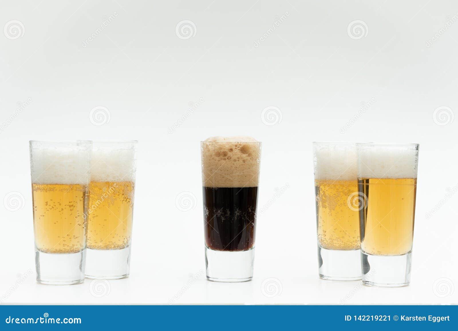 Οι διαφορετικοί τύποι μπυρών συμβολίζουν την ποικιλομορφία