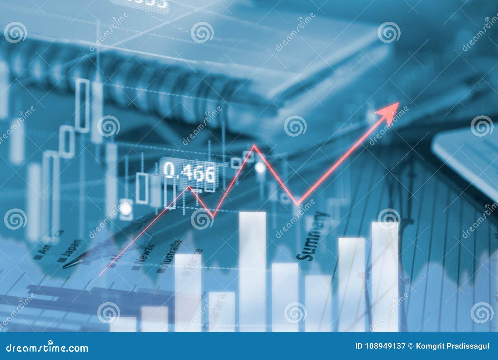 Οι επιχειρησιακά γραφικές παραστάσεις και τα διαγράμματα μολυβιών υποβάλλουν έκθεση με τη γραφική παράσταση κέρδους του εμπορικού