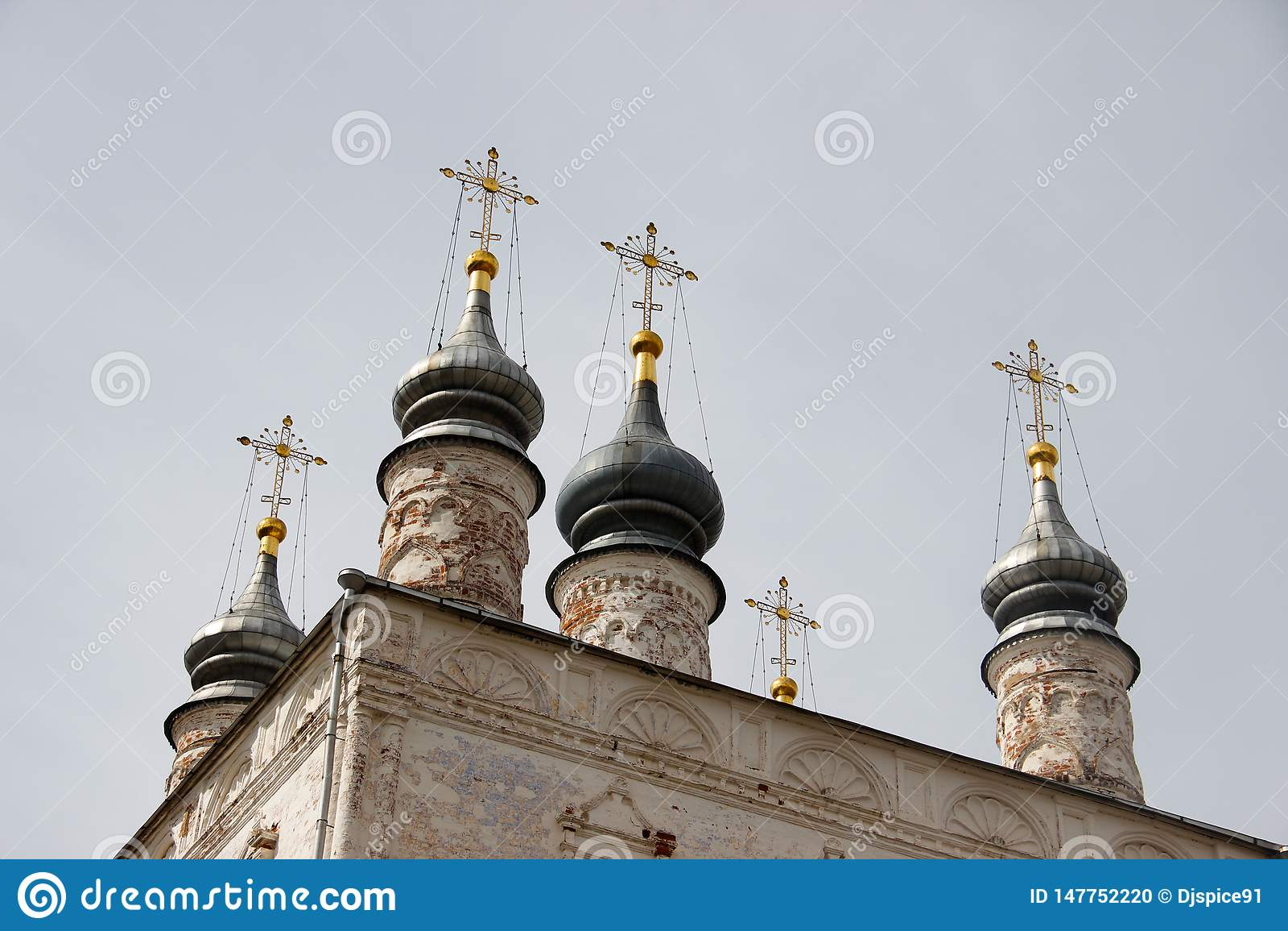 Οι θόλοι του αρχαίου χριστιανικού καθεδρικού ναού