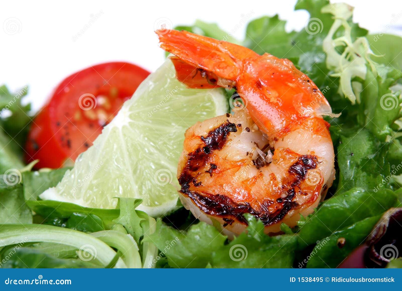 οι πράσινες γαρίδες σαλά&