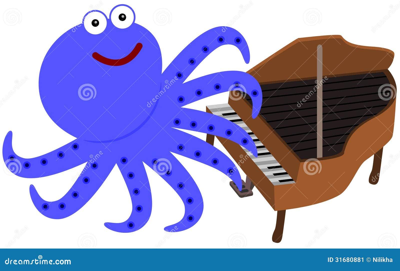 Οκτώ πόδια και ένα πιάνο