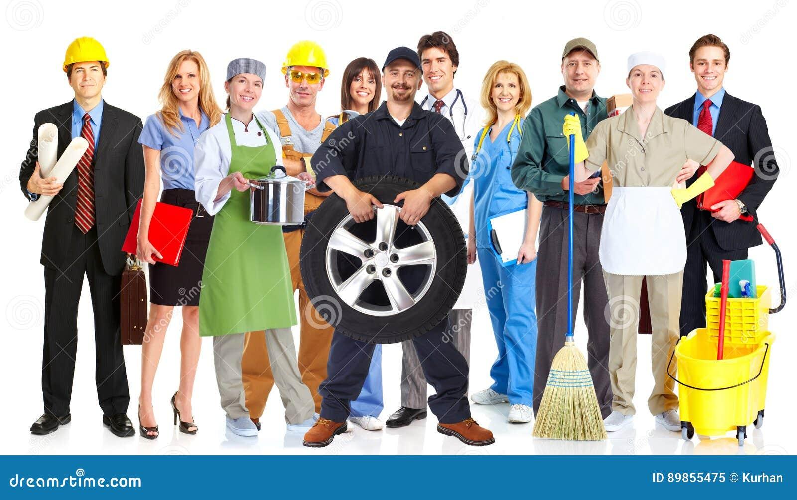 Ομάδα ανθρώπων εργαζομένων