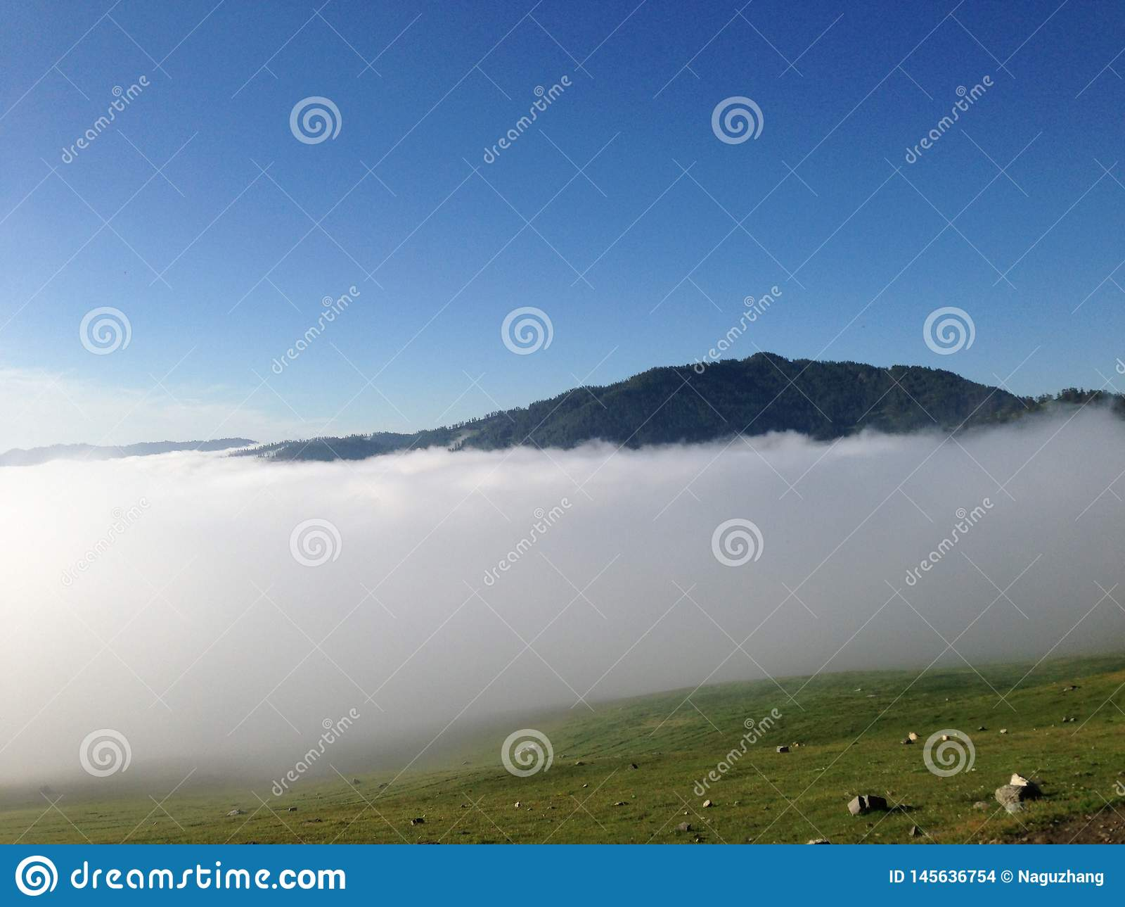 Ομίχλη πρωινού vally