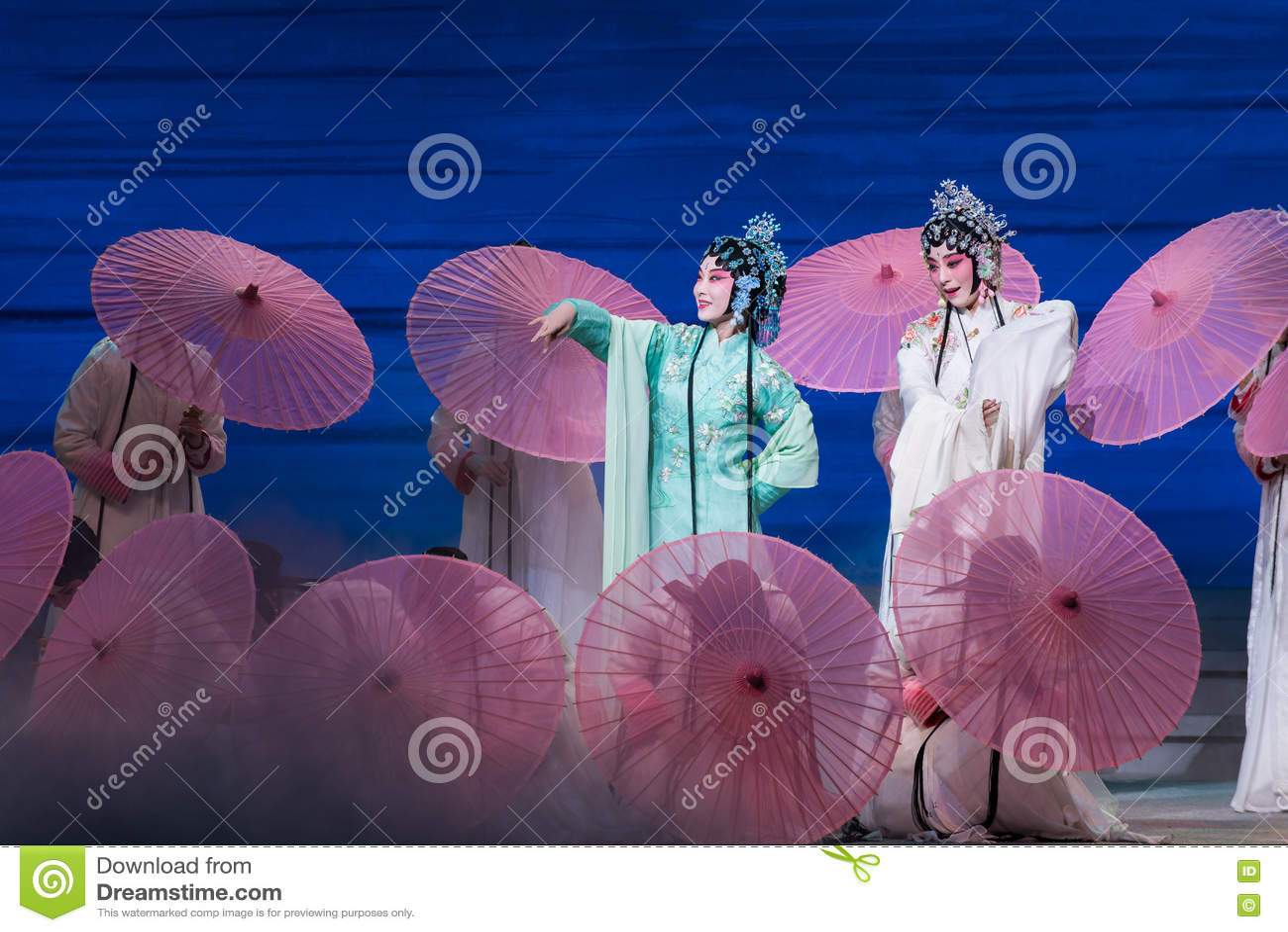 """Ομορφιά της δύσης λίμνη-Kunqu Opera""""Madame άσπρο Snake†"""