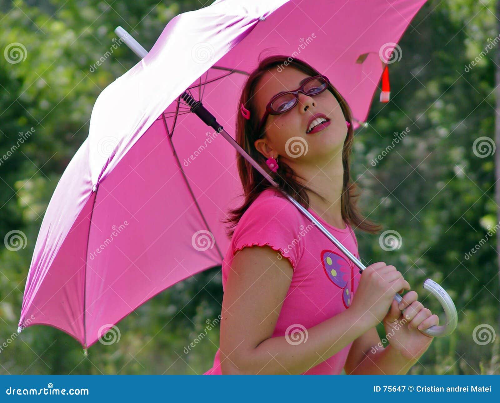ομπρέλα κοριτσιών
