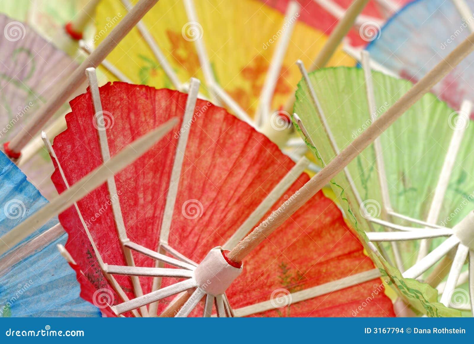 ομπρέλες κοκτέιλ