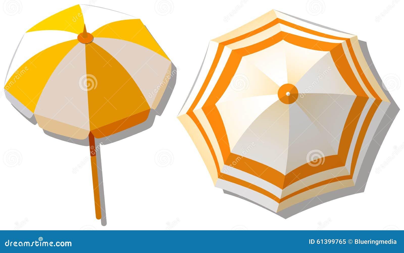 Ομπρέλα από τη τοπ άποψη