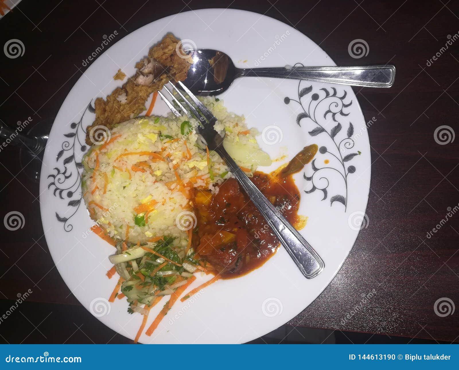 Οξύθυμα τρόφιμα κινέζικα γευμάτων μεσημεριανού γεύματος προγευμάτων