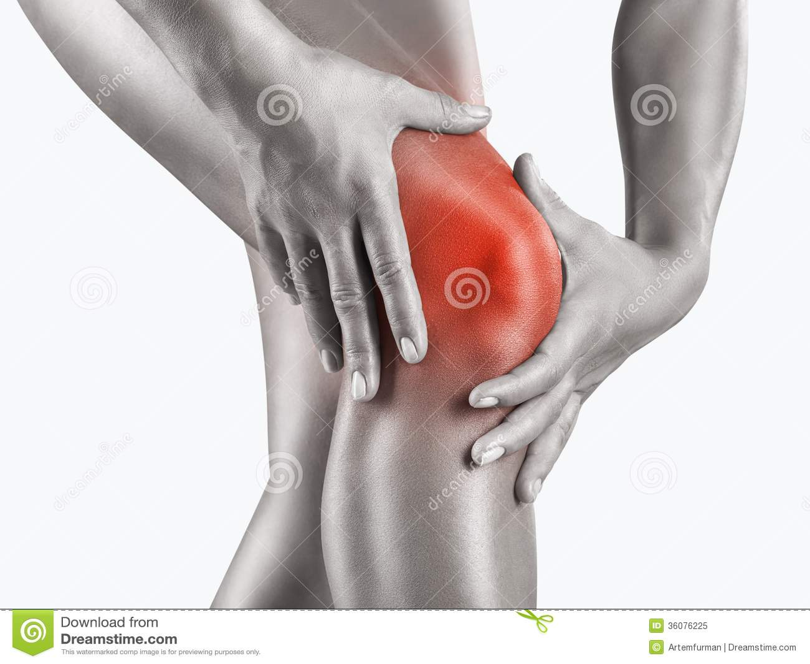 Οξύς πόνος στο γόνατο