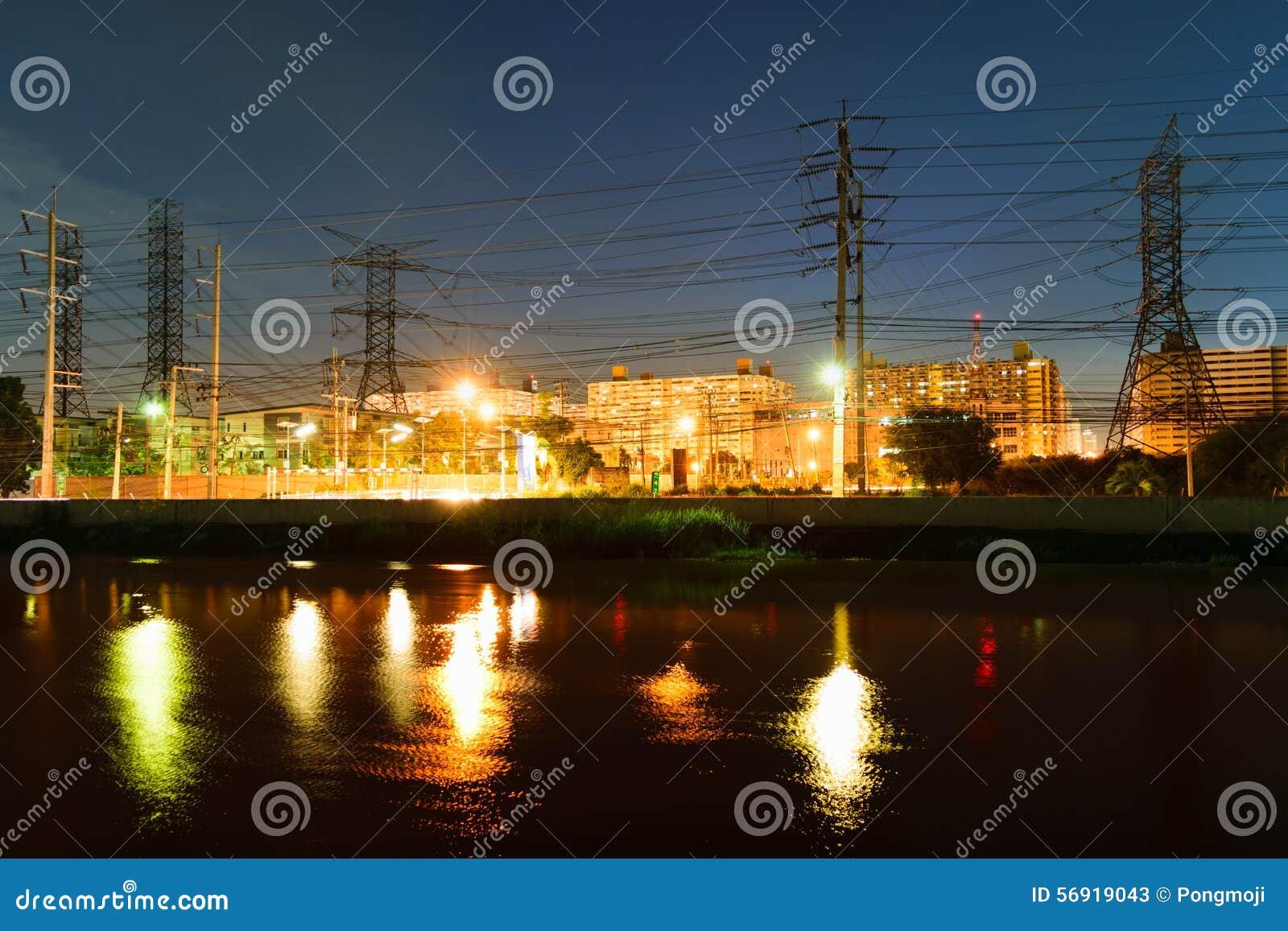 Ορίζοντας νύχτας της Μπανγκόκ