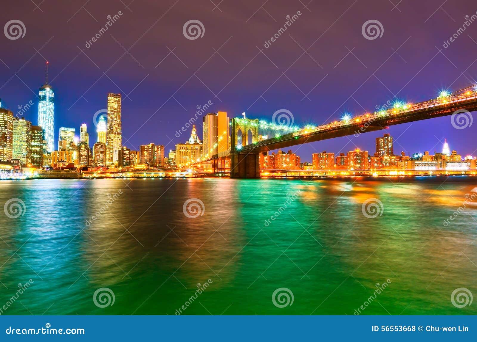 Download ορίζοντας νύχτας του Μπρ&omicro Στοκ Εικόνες - εικόνα από πρόσοψη, αρχιτεκτονικής: 56553668
