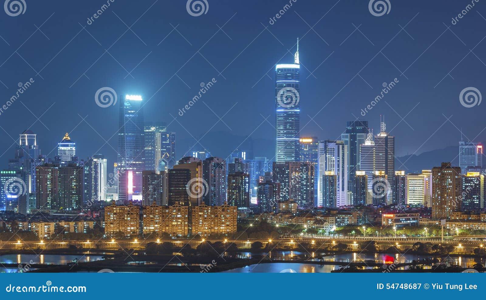 Ορίζοντας της πόλης Shenzhen, Κίνα