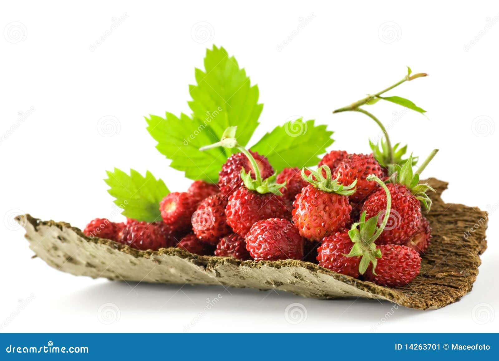 οργανικές φράουλες
